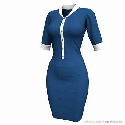 Designer Marvelous 3d Dresses Clothes Garment Clothing