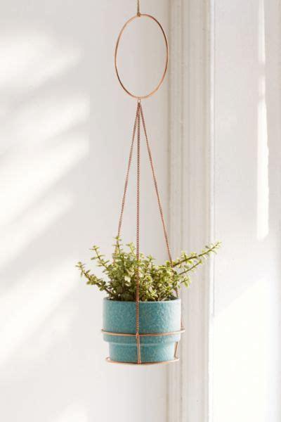 metal circle hanging planter urban outfitters