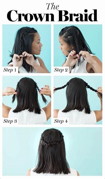Braid Hair Hairstyles Diy Glamour Braids Yourself