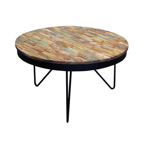 Table De Salon Ronde En Bois Table De Salon Ronde Blanche