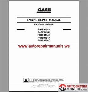 Case Engine Service Manual