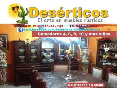 deserticos el arte en muebles rusticos pachuca