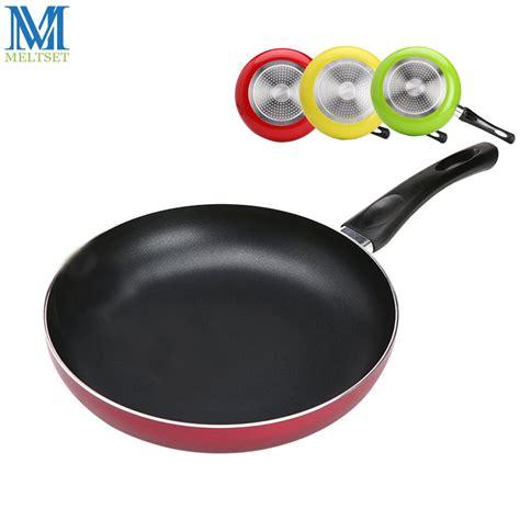 cm  stick frying pan aluminum alloy material teflon coating  inductiongas cookware