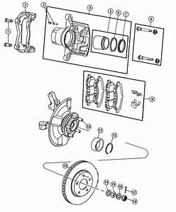 2011 Jeep Patriot Pin  Right Or Left  Caliper  Disc  Lock