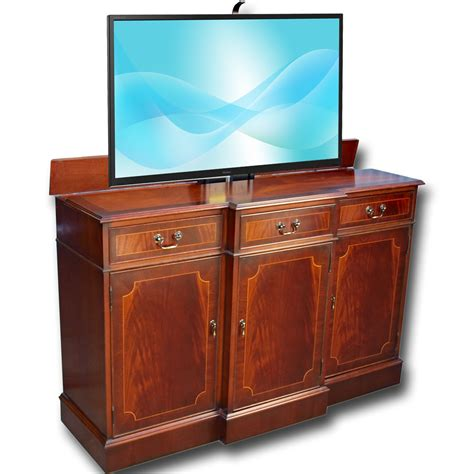 Sideboard Tv by Breakfront Sideboard With Tv Lift