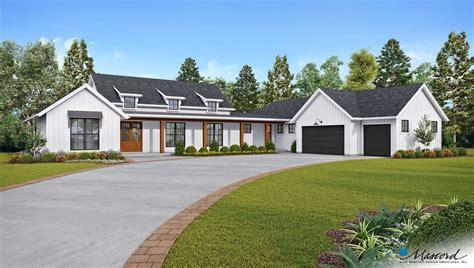 plan   bernadino   modern farmhouse plans american houses contemporary house