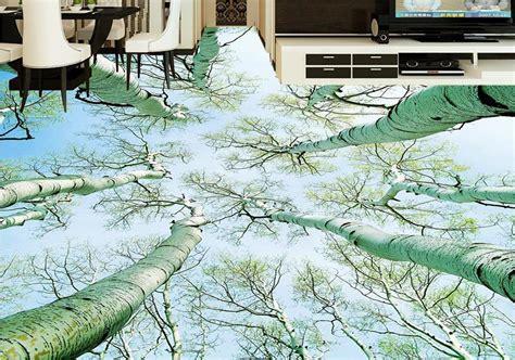 Vinyl Flooring Wallpaper Roll Size Beautiful Forest 3d