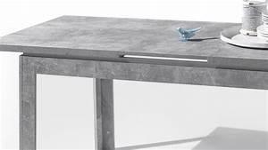 Esstisch Hochglanz Grau : esstisch stone tisch beton optik grau und wei hochglanz 140 180x80 cm in 2018 ~ Frokenaadalensverden.com Haus und Dekorationen