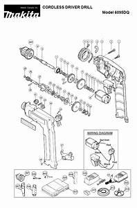 Buy Makita 6095dwbe Replacement Tool Parts