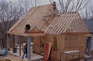 Build Gable Roof Extend Roof Overhang Ideas Porch Roof Framing