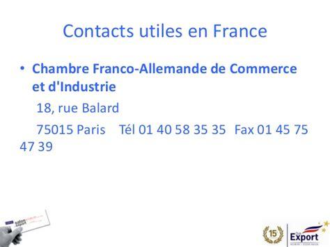 chambre de commerce franco allemande salon de l 39 export 2014 presentation allemagne