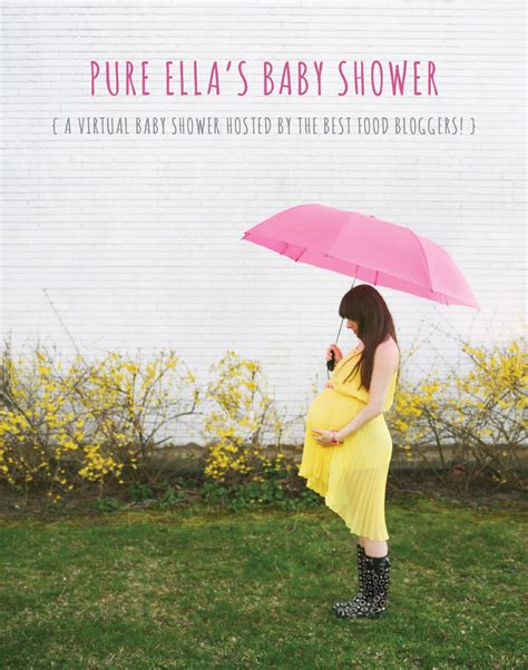 Pure Ella's Baby Shower! Hosted By Amazing Blogger Friends!!  Pure Ella