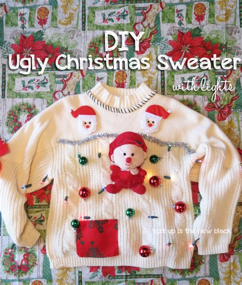 15 do it yourself sweaters oh my creative