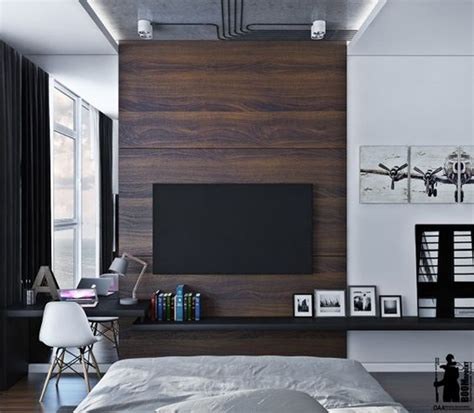 Bedroom Design Tv Wall by 20 Modern And Minimalist Tv Wall Decor Ideas Home Design