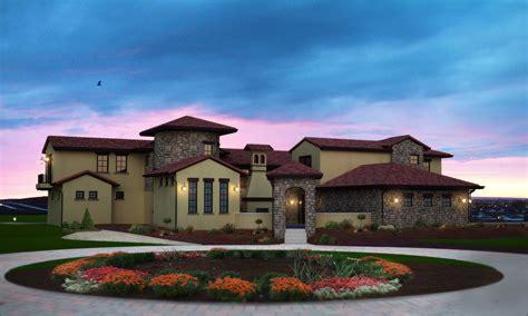 Find home building designs in different architectural styles: Mediterranean Home Plan - 6 Bedrms, 5.5 Baths - 7521 Sq Ft - #161-1035