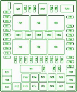 Ford Fuse Box Diagram  Fuse Box Ford 2008 F150 Passenger