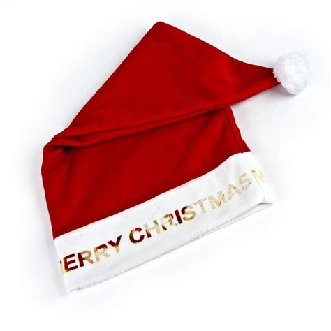personalised christmas santa hats for babies kids adults bags of love