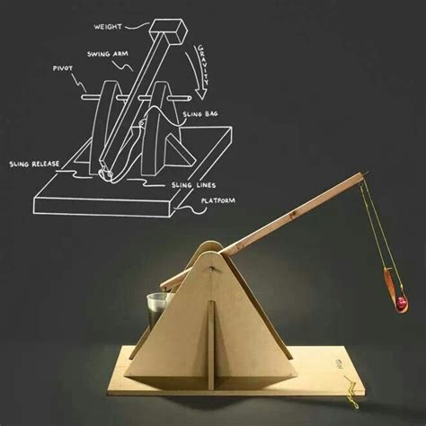 diy trebuchet instructions woodworking projects plans