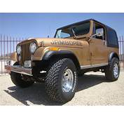 1982 Jeep CJ7 Jamboree Edition 30th Anniversary CJ 7 W/ AC