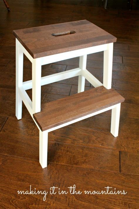ikea kitchen step stool freckles chick spruced  step