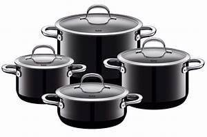 Wmf Made In Germany : wmf silit passion 8 piece cookware set black made in germany cookers steamers ~ A.2002-acura-tl-radio.info Haus und Dekorationen