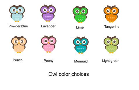cute owl personalized name tag back to okprintables