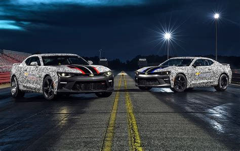 2017 Chevrolet Camaro Copo Drag Package Previewed For Sema