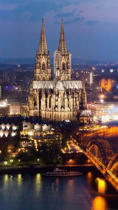 Cathedral Cologne Spain Iphone Bridge Hohenzollern Wallpapers