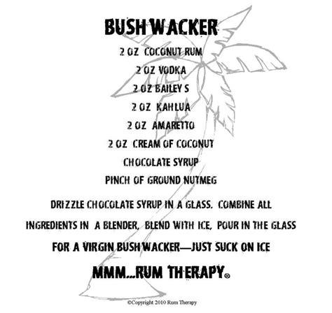 bushwacker drink bushwacker drink from paradise point st thomas drink cheers pinterest paradise