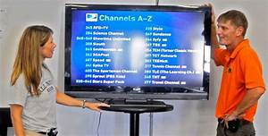 File:Satellite TV channel demonstration at Camp America ...
