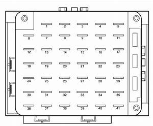 Lincoln Continental Mk9  1999 - 2002  - Fuse Box Diagram