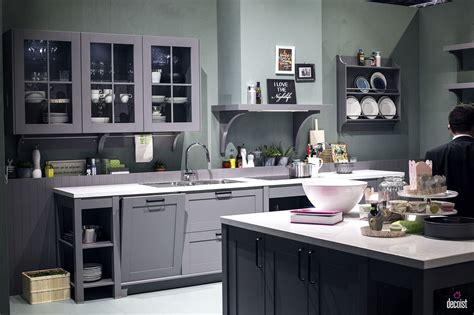 and grey kitchen designs classic and trendy 45 gray and white kitchen ideas 7665