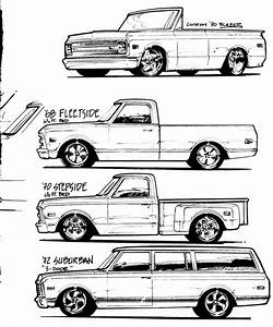 cool sketch 67 72 pinterest sketches cars and chevrolet With 1967 chevy crew cab