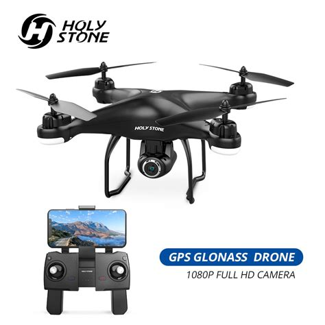 holy stone hsd gps drone fpv  p hd camera wifi rc drones selfie follow  quadcopter