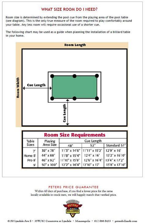 standard bar pool table size área jogos idéias casa gp pinterest basements game