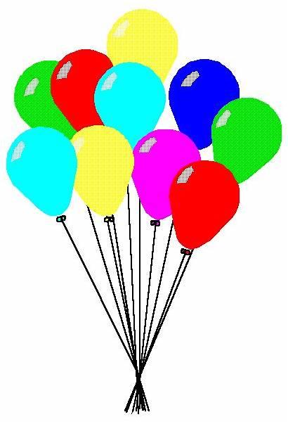 Balloons Clip Clipart Balloon Birthday America Google