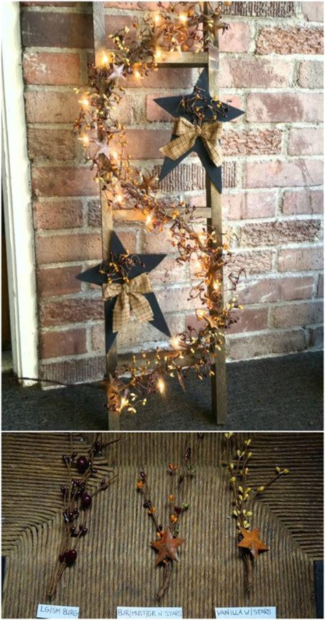 wooden ladder repurposing ideas  add farmhouse