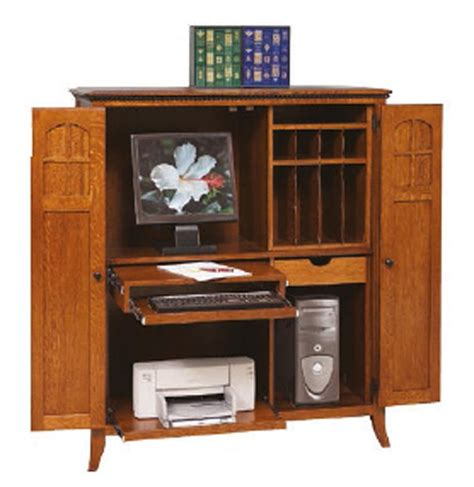 amish mt eaton computer armoire desk