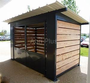 Abri Moto Bois : abri moto bois abri de jardin de 5m2 maisondours ~ Melissatoandfro.com Idées de Décoration
