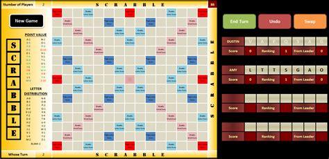 scrabble board template vba scrabble dustin ormond s