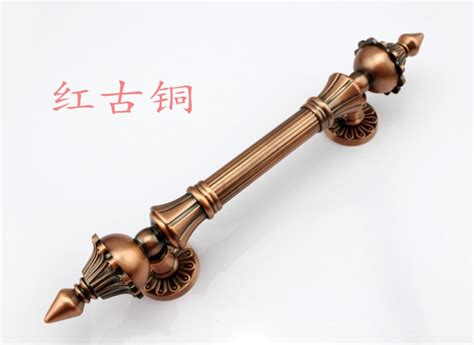 luxury cabinet hardware 2pcs 270mm bronze big door handles and pull cabinet