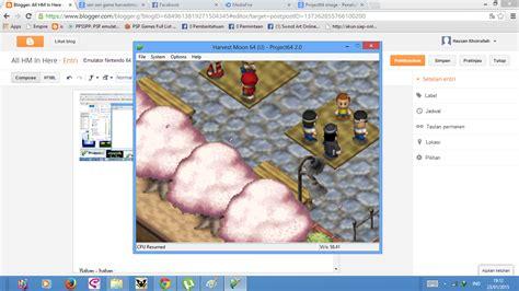 Kalian akan melihat anjing kalian mencoba menyerang muffy. Download Emulator Nintendo 64 FOR PC - Harvest Moon
