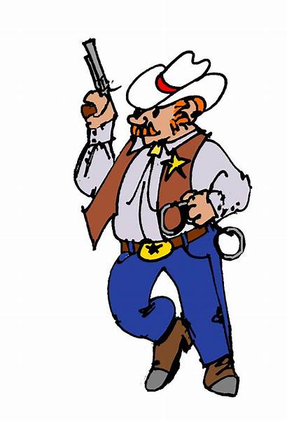 Clipart Monopoly Clip Sheriff Walking Card Clipartion