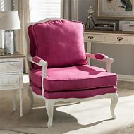 Pink Upholstered Accent Chairs