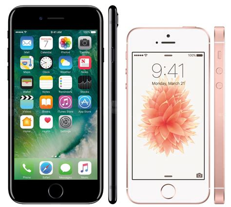 what does the i in iphone iphone 7 vs iphone se what s the difference