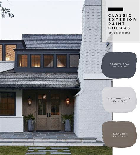 exterior paint color combinations fixer upper