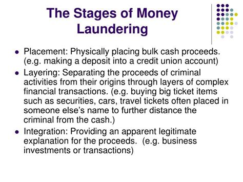 Anti Money Laundering Ppt Ppt Bank Secrecy Act Anti Money Laundering Program