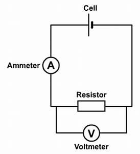 basic voltmeter circuit diagram voltmeter circuit for With the basic circuit