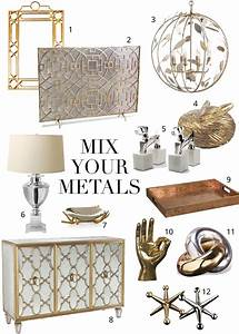 Mixing Metals: The Do's and Don'ts