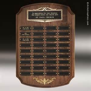 Perpetual Memorial Plaque Award